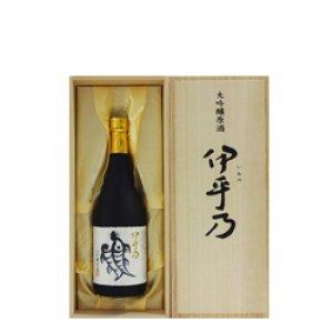 画像1: 越の初梅 大吟醸 伊乎乃 720ml(桐箱入り) (高の井酒造株式会社)