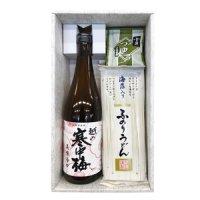 ふのりうどん&酒セットFUS-M