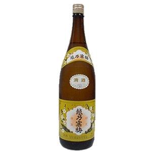 画像1: 越乃寒梅 白ラベル1800ml (石本酒造株式会社)