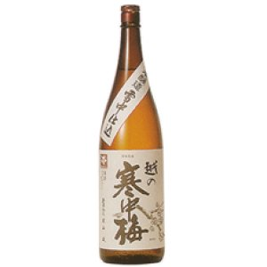 画像1: 越の寒中梅 特別本醸造1800ml (新潟銘醸株式会社)