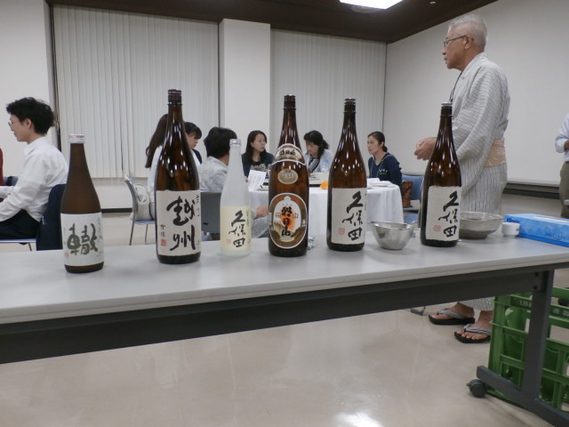 日本酒ルネッサンス倶楽部 OJIYA SAKE40 第2回 定例会